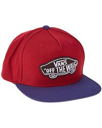 Vans Classic Patch Snapback - Rosso