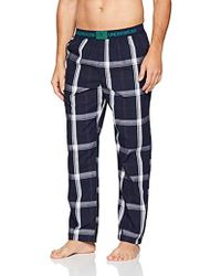 Calvin Klein Sleep Pant Bas De Pyjama Homme - Bleu
