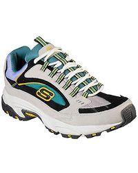 Skechers Go Walk 3 Charge Sneakers, 45 EU - Mehrfarbig