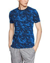 Under Armour AOP Sportstyle Short Sleeve Graph - Blau