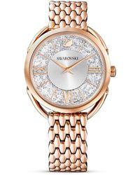 Swarovski Orologio Crystalline Glam da donna tono oro rosa 5452465 - Metallizzato