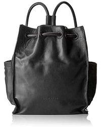 Liebeskind Berlin Drawstring Backpack Medium Rucksackhandtasche, 11.0x33.0x27.0 cm - Schwarz