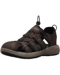 Skechers 51834 Open Toe Sandals - Black