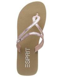 48c90463546a adidas Adilette Slide Pink Glitter in Pink - Lyst