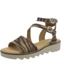 Gabor Shoes Comfort Sport Riemchensandalen - Mehrfarbig