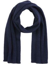 GANT O2. Wool Knit Scarf Schal - Blau