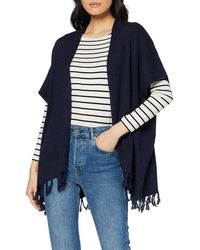 Dorothy Perkins Tassel Blanket 55360030 Shawls - Blue