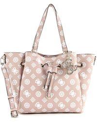 Guess Digital Drawstring Bag Rose - Rosa