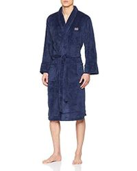 6055e1832c570a Ted Baker Dressing Gown in Gray for Men - Lyst