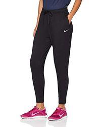 Nike W NK Flow VCTRY Pant Pantalón, Mujer, Negro (Black/White), XL