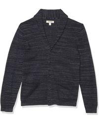 Goodthreads Soft Cotton Cardigan Summer Sweater - Bleu