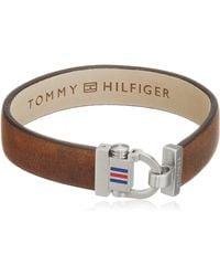 Tommy Hilfiger Jewelry Hombre Acero Inoxidable FASHIONNECKLACEBRACELETANKLET - Rojo