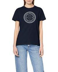 Tommy Hilfiger - Viola C-nk Tee Ss T-shirt - Lyst
