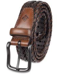 Columbia Casual Leather Belt - Black
