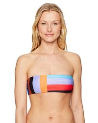 Mara Hoffman - Abigail Bandeau Bikini Top Swimsuit - Lyst
