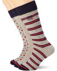 Superdry No Show Trainer Socks White Triple Pack PJZ