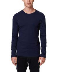 Esprit 998ee2k818 Long Sleeve Top - Blue