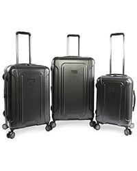 Original Penguin - Crest 2.0-3 Piece Set Expandable Suitcase With Spinner Wheels - Lyst