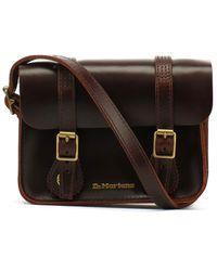Dr. Martens 7 Inch Leather Satchel AB098230; Bag; AB098230; Brown; One Size EU (UK) - Braun