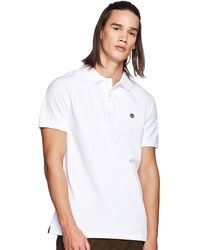 Timberland SS Millers River Polo - Bianco