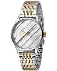 Esprit ES1L029M0075 E.ASY Two Tone Gold Silver MB Ladies Watch - Métallisé