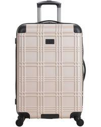 Ben Sherman Nottingham Lightweight Hardside 4-wheel Spinner Travel Luggage - Metallic