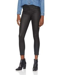 True Religion Leather Look Like Jegging Leggings Donna, Nero (Black 1002) 28W x 32L (Taglia Produttore: Medium)