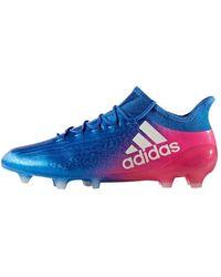 adidas X 16.1 Fg, Chaussures de Football homme - Bleu