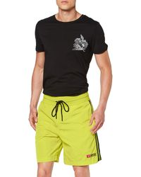 DIESEL P-boxie Shorts - Yellow
