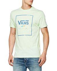 Vans Print Box Pocket Tee T-shirt in Gray for Men - Lyst 74b853cf2cd