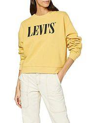 Levi's Graphic Diana Crew Sweat-Shirt - Multicolore