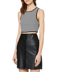 Guess Blanche Top Fashion Vest - Black