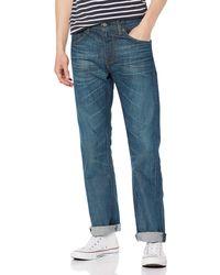 Levi's 527 Slim Boot Cut Jeans - Blau