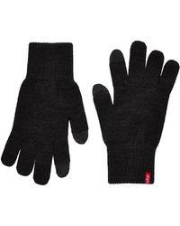 Levi's Ben Touch Screen Gloves - Black
