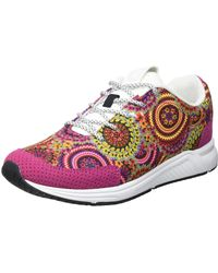 Desigual Shoes_Runner Tapes Sneakers - Grün