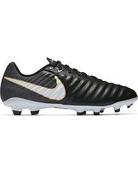 Nike Tiempo Ligera Iv 10r Ic Ronaldhino Soccer Shoes Black