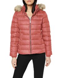 Tommy Hilfiger Tommy_Jeans TJW ESSENTIAL HOODED DOWN JACKET Jacke - Rot