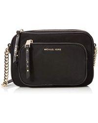 7085c9c1b06d Michael Kors S Lenox Messenger Bag in Black - Lyst