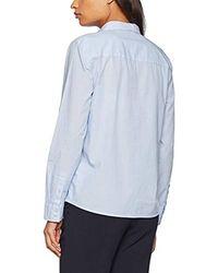 Tom Tailor Casual Stripe Blouse Bluse - Blau