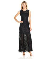 BCBGeneration Lace Gown - Black