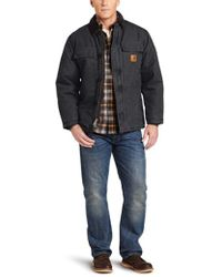 Carhartt - Arctic Quilt Lined Sandstone Traditional Coat C26 - Lyst