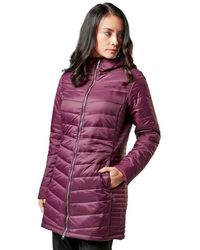 Regatta Beaudine Long Baffle Jacket - Purple