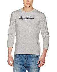 Pepe Jeans - EGGO Long Pm501321 T-shirt - Lyst