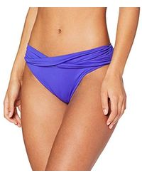 Seafolly Twist Band Hipster Slip Bikini Donna - Blu