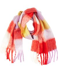 Vero Moda Vmmaura Long Scarf - Red