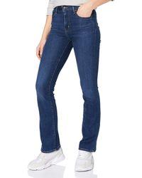Levi's 725 High Rise Bootcut Jeans - Schwarz