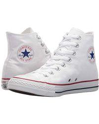 Converse Chuck Taylor All Star Speciality Hi, Zapatillas Altas de Tela Unisex Adulto - Blanco