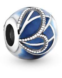 PANDORA Bead Charm Donna argento - 797886ENMX - Blu