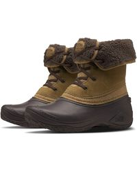 The North Face Shellista II Roll-Down Winter Boot - Marron