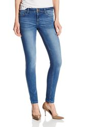 DL1961 Florence Instasculpt Mid Rise Skinny Fit Jean - Blue